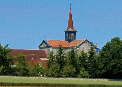 Abbaye cistercienne d'Acey à Vitreux (39)