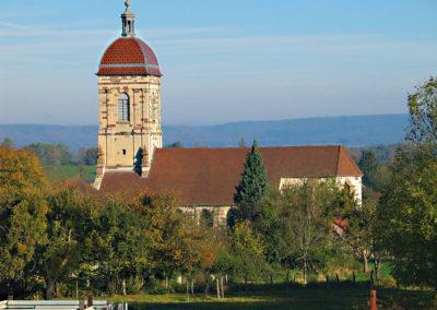 Église de Mailleroncourt Saint-Pancras (70)