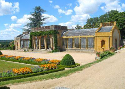 Les serres du Château de Digoine