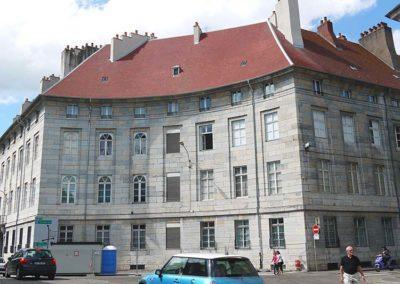 Bâtiment rue Charles Nodier à Besançon