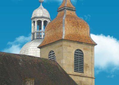 Clochers de l'ancienne abbaye de Faverney (70)